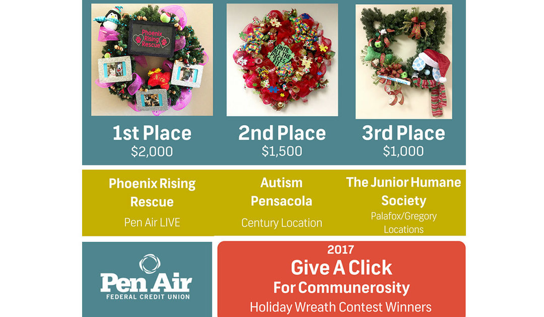 3rd Annual Give a Click for Communerosity Winners